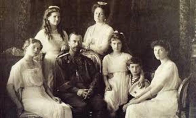 Czar Nicholas' Family is Executed