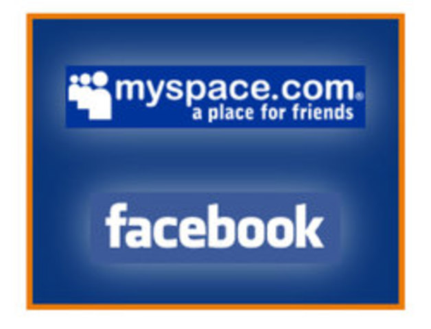 Facebook sube, MySpace baja