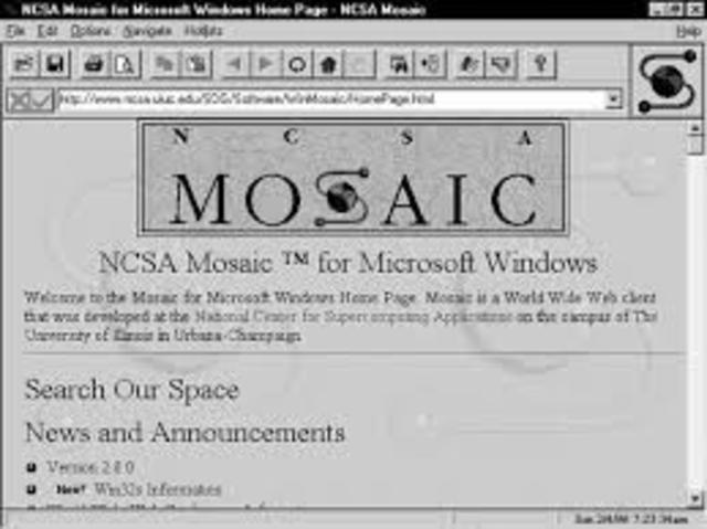 Primer Navergador Web