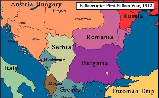 Bosnia annexed