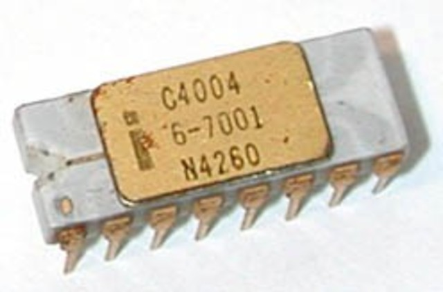 Primeiro microchip chamava-se 4004