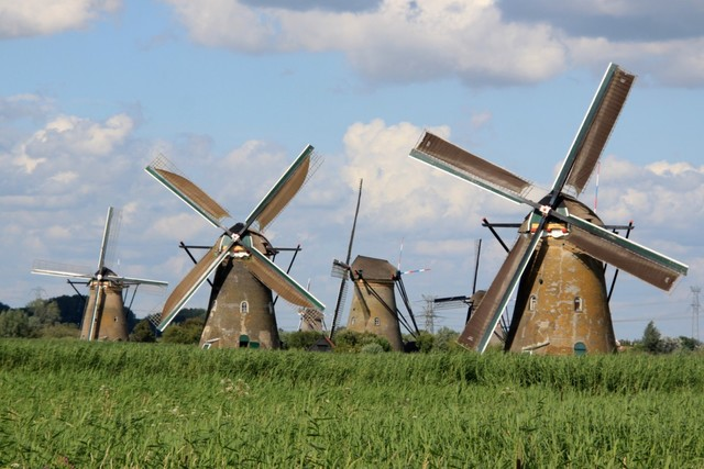 Windmills Built in Persia to Grind Grain and Pump Water