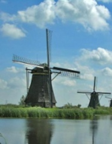 Dutch Build Windmills for Multiple Uses