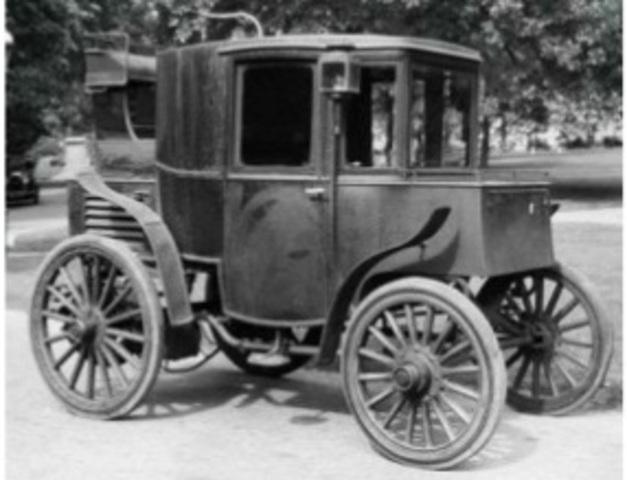 1er Vehículo motorizado