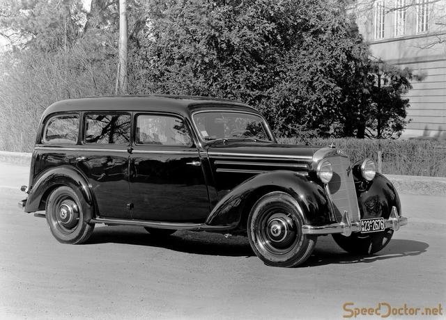 First diesel powered car