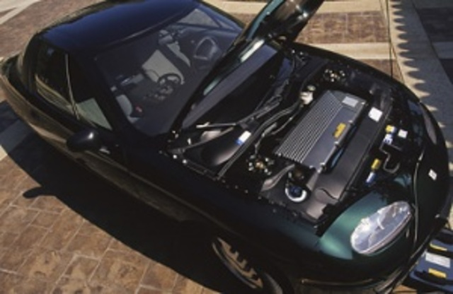 EV1 Electric Car Is Made Available to the Public For Lease; Lease Program and EV1 Later Dismantled by GM