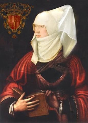 Blanca I de Navarra casa con Juan II de Aragón.