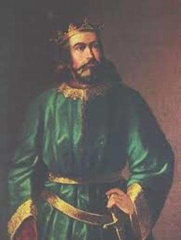 Pedro I casa en segundas nupcias con Berta.