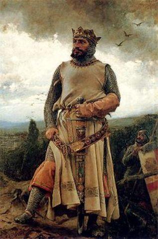 Alfonso I el Batallador lega todos sus reinos a ordenes militares.