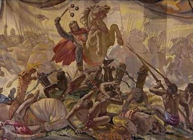 Sancho VII el Fuerte participa en la Batalla de Las Navas de Tolosa