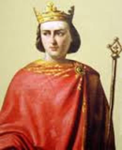 Teobaldo II embarca en una cruzada.