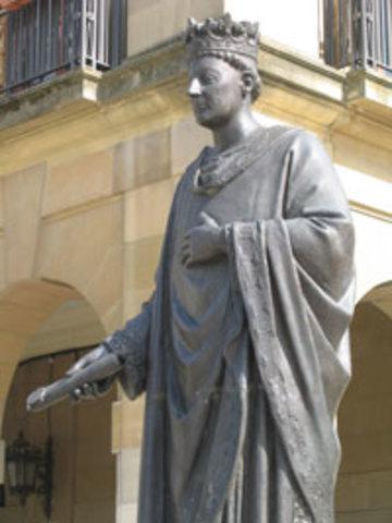 Carlos III el Noble firma el Privilegio de la Unión de Pamplona.