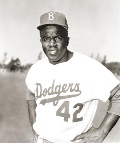 When Jackie Robinson went to baseball