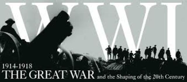 WWI Begins (R.R.)