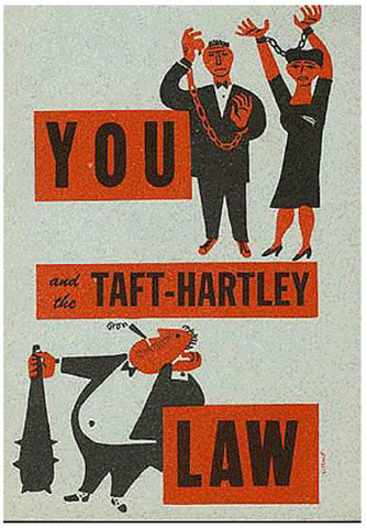Taft-Hartley Act Passed