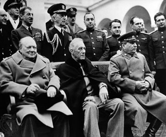 Yalta Conference is Held