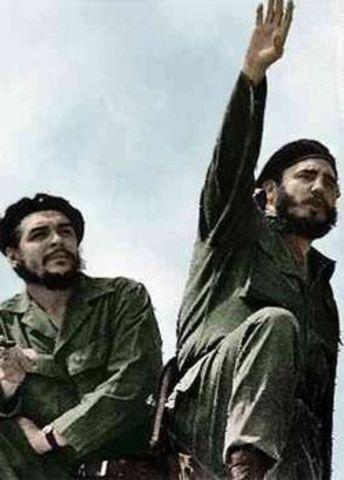 Fidel Castro becomes leader of Cuba