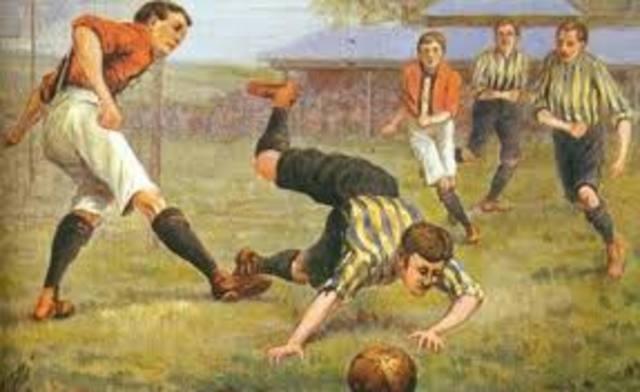 Las primeras reglas del futbol