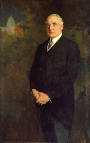 President Harding dies