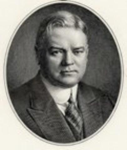 31st President: Herbert Hoover