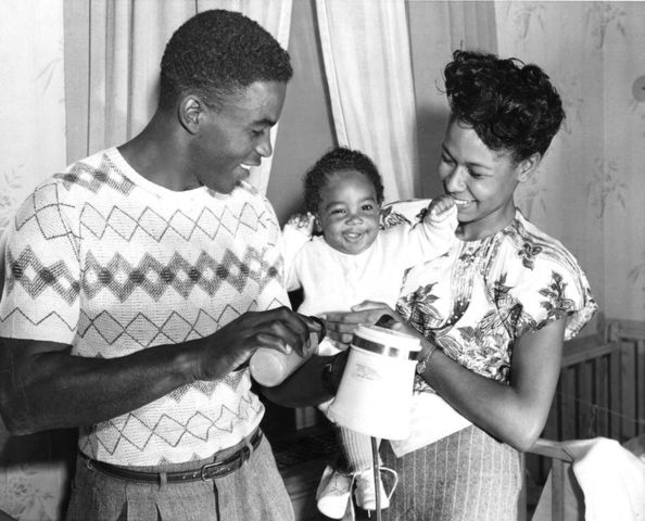 Jackie Robinson First Child