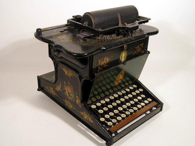 Sholes & Glidden Type Writer