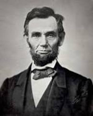 My true hero, Abraham Lincoln was elected into Presidency
