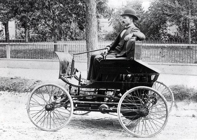 First car invented