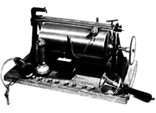 First telephone answering machines