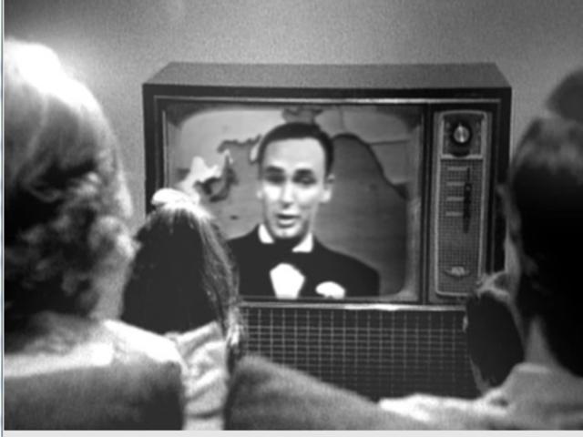 First public televison broadcast