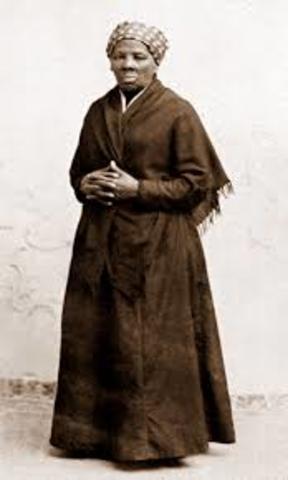 Harriet became active in Civil War