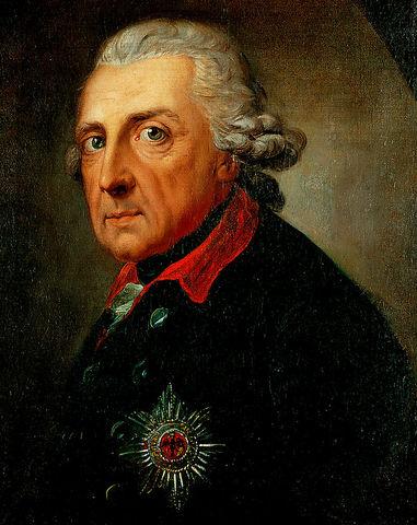 Фри́дрих II Великий -  король Пруссии с 1740 года. Представитель просвещённого абсолютизма, основоположник прусско-германской государственности.
