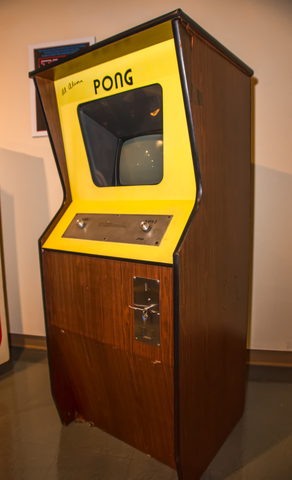 The release of Pong
