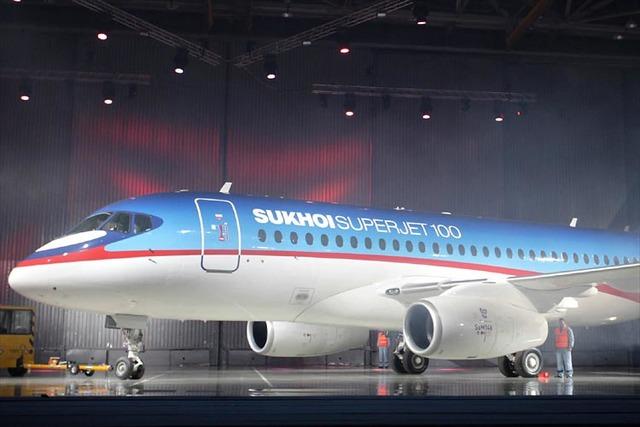 Первый российский гражданский самолет 21 века