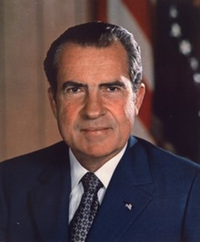 Richard Nixon becomes US President