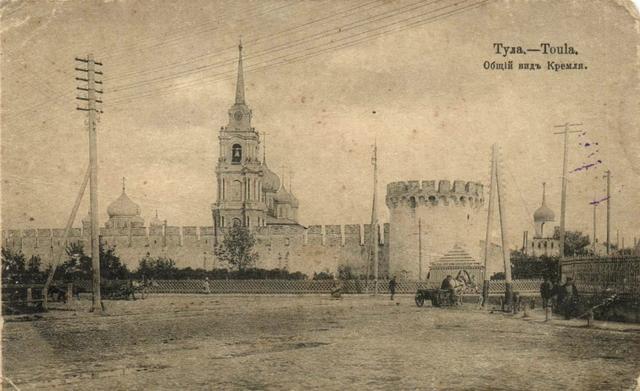 Начало строительства каменного кремля