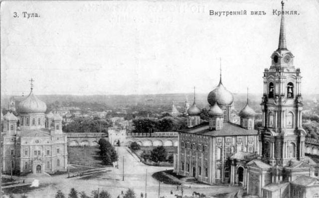 Окончание строительства Тульского кремля