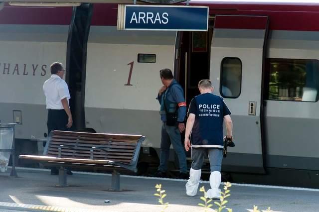 Tren de Amsterdam a París