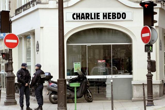 París - Semanario 'Charlie Hebdo'