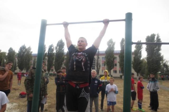 Соревнования среди казачей молодежи