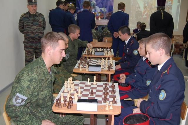 Шахтинский Покровский кадетский Шахматный Фестиваль