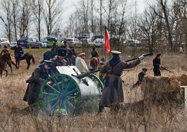 Поход Чернецова - Монастырское урочище