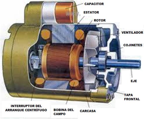 Motor eléctrico rudimentario de Faraday