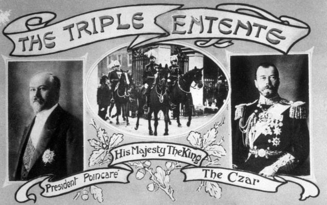 Britian attempts to deter Germany by reminding them of the Triple Entente