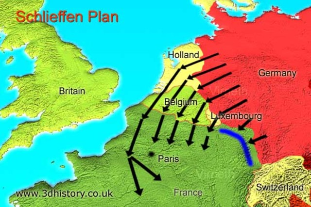 Germany attempts to manipulate Belgium, Britian's ally