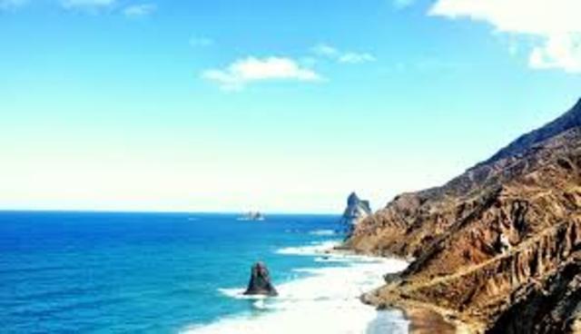 Käisin Tenerifes