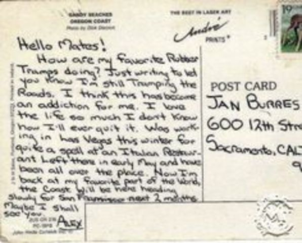 Letter to Jan
