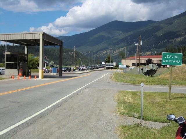 Crossing Canadian Border