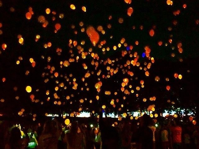 The night baloons