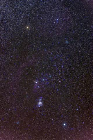 Открыта Туманность Ориона